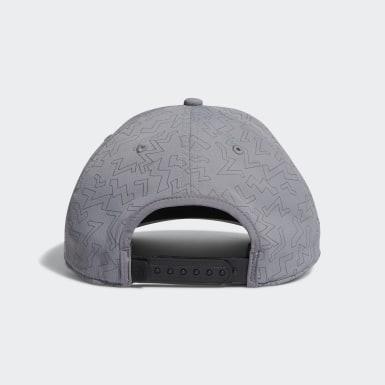 Men Golf Grey Color Pop Hat