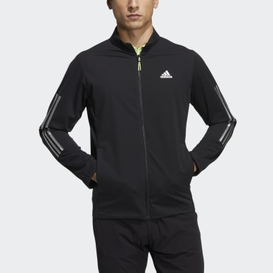 Men Golf Black Wind Jacket