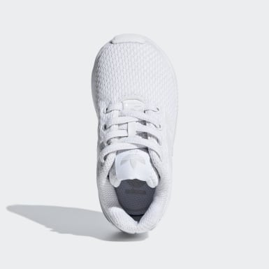 Tenis ZX Flux Blanco Niño Originals