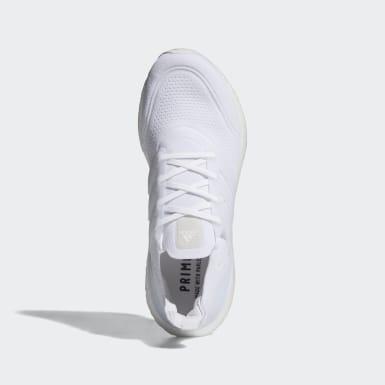 Heren Hardlopen wit Ultraboost 21 Schoenen