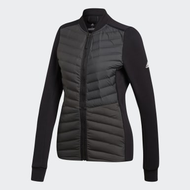 Women Urban Outdoor Black Varilite Hybrid Winter Jacket