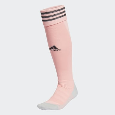 Men Football Pink AdiSocks Knee Socks