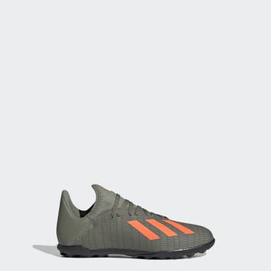 Zapatos de Fútbol X 19.3 Césped Artificial Verde Niño Fútbol