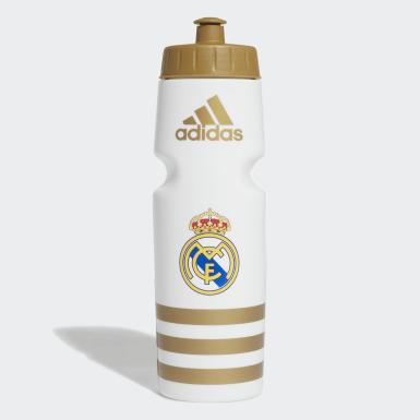 Fußball Real Madrid Trinkflasche Weiß