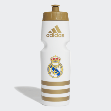 Voetbal wit Real Madrid Waterfles