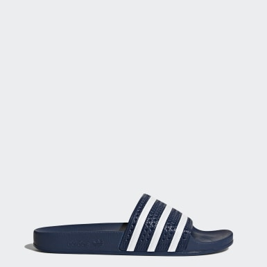 Originals Blue adilette Terlik