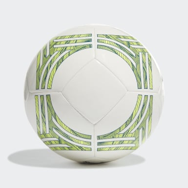 Men Football White Tango Club Ball