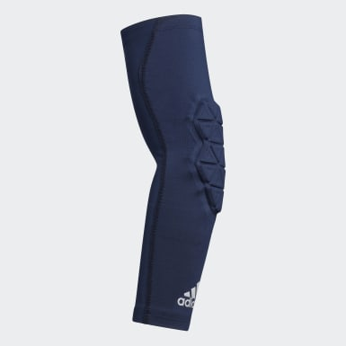 Men's Training Blue Alphaskin Force Padded Elbow Sleeve