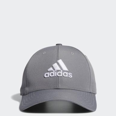 Men Golf Grey Performance Hat