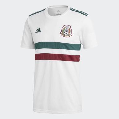 Jersey Segundo Uniforme Selección Nacional de México Blanco Hombre Fútbol