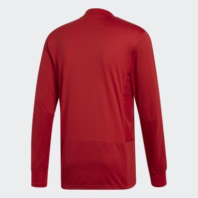 Camiseta manga larga entrenamiento Condivo 18 Player Focus Rojo Hombre Training