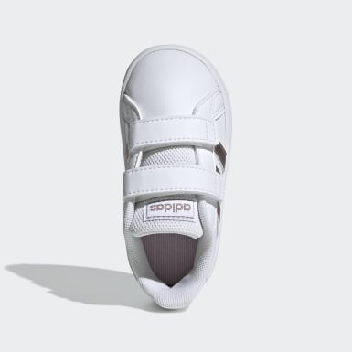 Chaussure Grand Court. blanc Bambins & Bebes Essentials