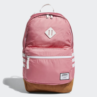 Women Training Pink Classic 3-Stripes Plus Backpack