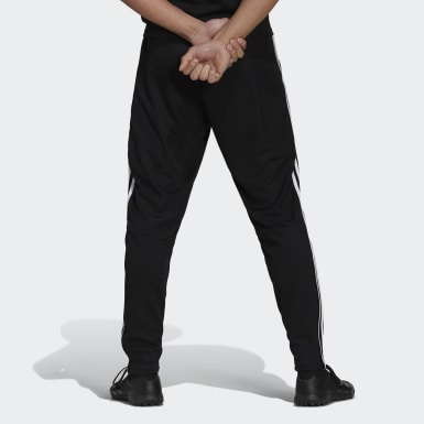 Men Soccer Black Tiro 19 Training Pants