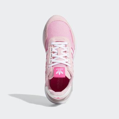 Meisjes Originals Roze Retroset Schoenen