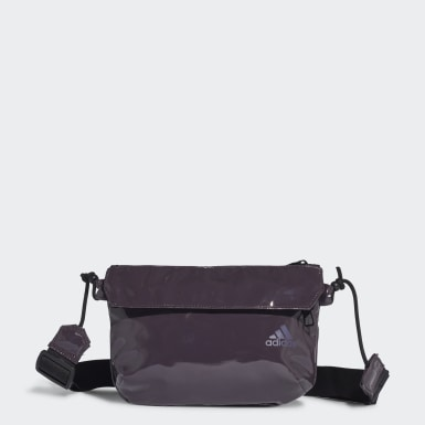 Kadın Training Purple Glossy Material Cross-Body Mini Çanta