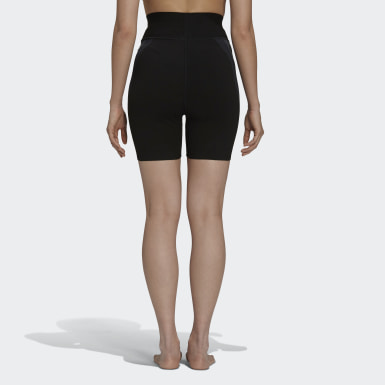 Short cycliste Pharrell Williams 18GG noir Femmes Originals
