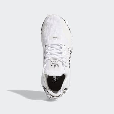 Chaussure NMD_R1 V2 blanc Adolescents Originals