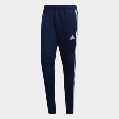 Muži Trénink modrá Kalhoty Tiro 19 Training