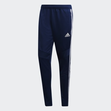 Pantalon d'entraînement Tiro 19 Bleu Hommes Training