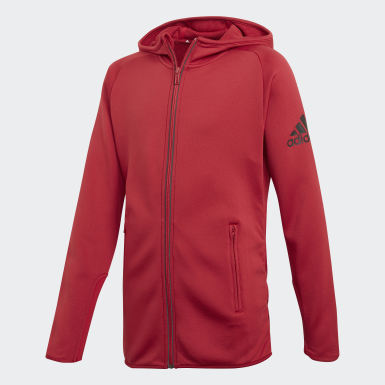 Girls Training Burgundy FreeLift Hoodie