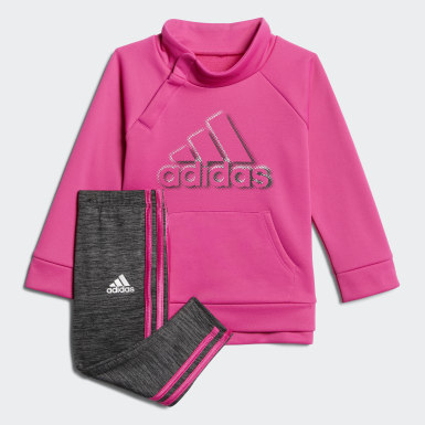 Fleece Sweatshirt and Tights Set