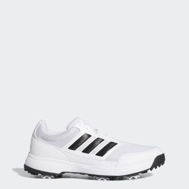 Men Golf White Tech Response 2.0 Golf Shoes