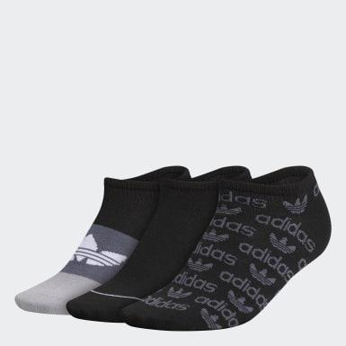 Women's Originals Black Graphic No-Show Socks 3 Pairs