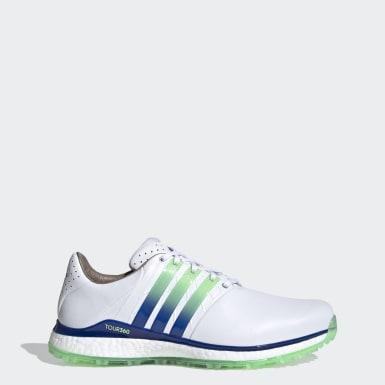 ผู้ชาย กอล์ฟ สีขาว รองเท้ากอล์ฟแบบไร้ปุ่ม TOUR360 XT-SL 2.0