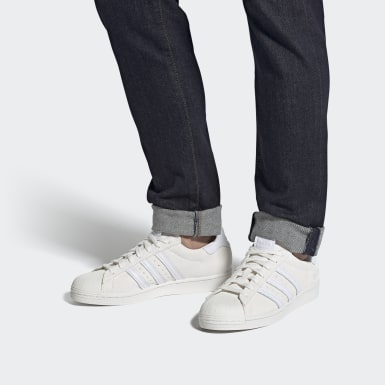Men's Originals Grey Superstar Shoes