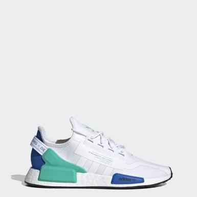 Originals สีขาว รองเท้า NMD_R1 V2