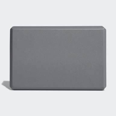 Yoga Block Foam Szary