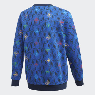 Youth Originals Blue Crew Sweatshirt