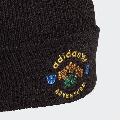 Bonnet Wool Adventure Cuff Noir Originals