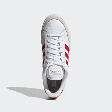 Men Sport Inspired White Grand Court SE Shoes