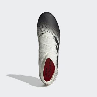 Calzado de Fútbol Nemeziz 18+ Terreno Firme Beige Hombre Fútbol