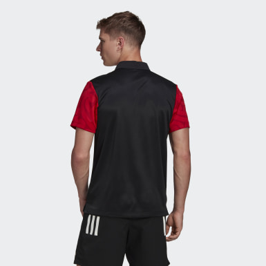 Heren Rugby Zwart Māori All Blacks Poloshirt