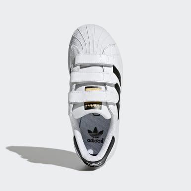 Chaussure Superstar Foundation blanc Enfants Originals