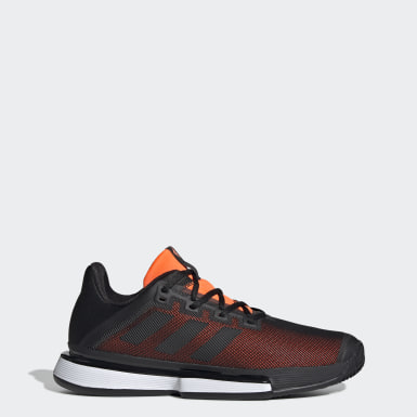 Men Tennis Black SoleMatch Bounce Clay Shoes