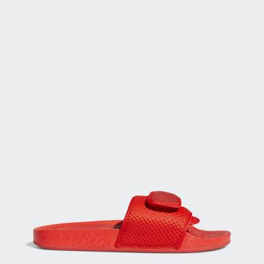 Claquette Pharrell Williams Boost rouge Originals