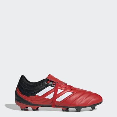 Calzado de fútbol Copa Gloro 20.2 Terreno Firme Rojo Hombre Fútbol
