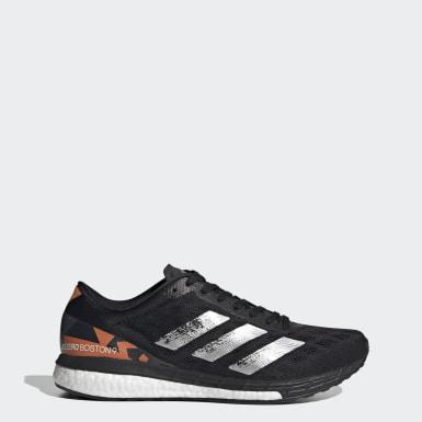 ผู้ชาย วิ่ง สีดำ รองเท้า Adizero Boston 9