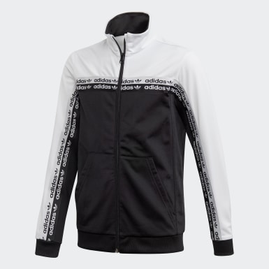 Youth 8-16 Years Originals Black Track Top
