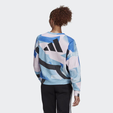 Felpa adidas Sportswear Nini Sum Graphic Multicolor Donna Athletics