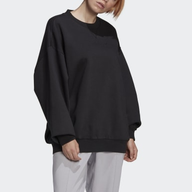 Women Originals Black Oversize Sweatshirt