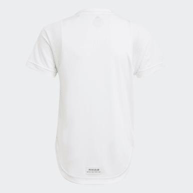 T-shirt XFG Primeblue AEROREADY Bianco Ragazza Training