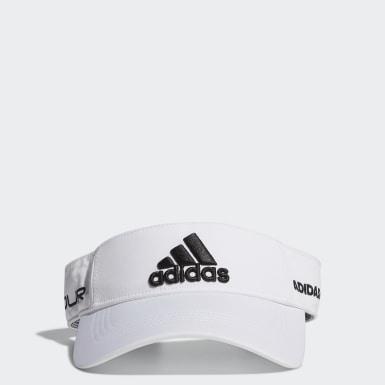 ผู้ชาย กอล์ฟ สีขาว หมวกไวเซอร์ Tour