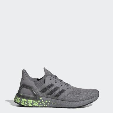 ผู้ชาย วิ่ง สีเทา รองเท้า Ultraboost 20