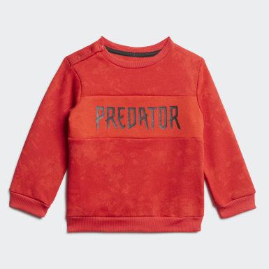 красный Комплект: джемпер и брюки Mini Me Predator