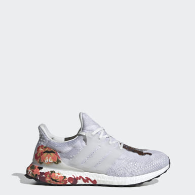 Running White Ultraboost DNA Shoes